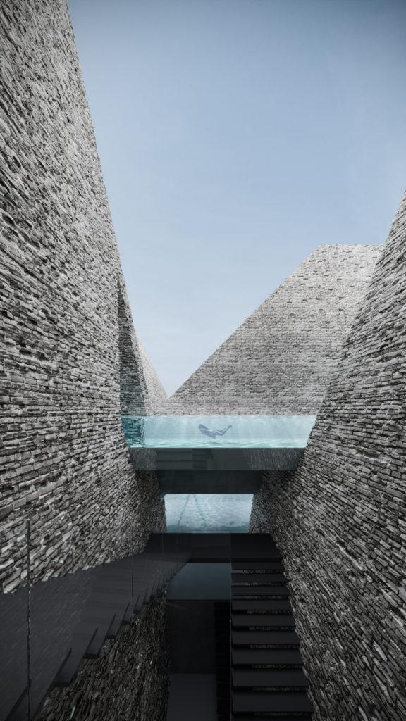 Det nye vandkulturhus. Foto: Yuki Ikeguchi, Kengo Kuma